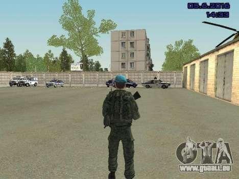 Modern Russian Soldiers pack für GTA San Andreas zwölften Screenshot