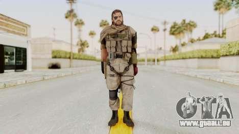 MGSV The Phantom Pain Venom Snake Scarf v3 pour GTA San Andreas deuxième écran
