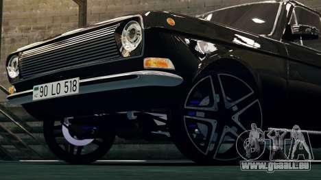 Gaz 24 Volga pour GTA 4 est une gauche