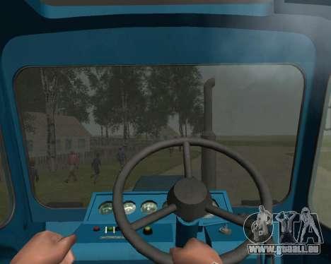 MTZ 80 Biélorussie pour GTA San Andreas vue arrière