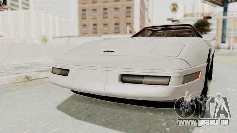 Chevrolet Corvette C4 1996 pour GTA San Andreas vue de droite
