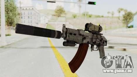 Combat SMG pour GTA San Andreas deuxième écran