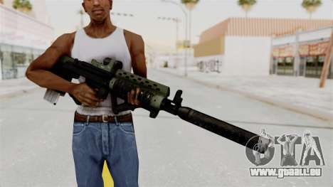 Killzone - M82 Assault Rifle Supressed für GTA San Andreas dritten Screenshot