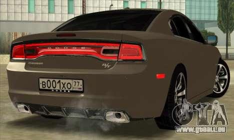 Dodge Charger pour GTA San Andreas laissé vue