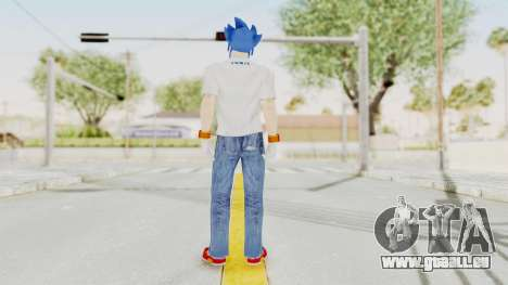 Sonic Man für GTA San Andreas dritten Screenshot