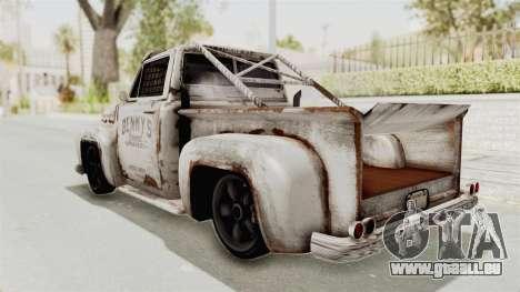 GTA 5 Slamvan Race PJ2 für GTA San Andreas rechten Ansicht