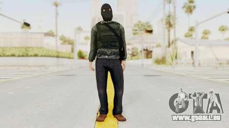 Battlefield 3 Bandit für GTA San Andreas zweiten Screenshot