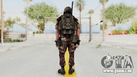 Battery Online Russian Soldier 3 v1 für GTA San Andreas dritten Screenshot