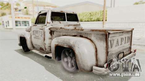 GTA 5 Slamvan Lowrider pour GTA San Andreas vue de droite