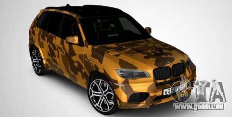 BMW X5M ( Davidich ) pour GTA San Andreas