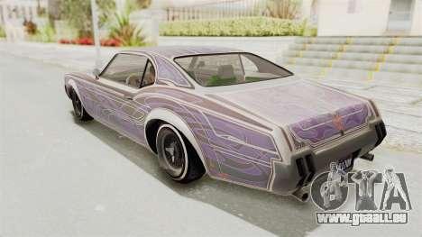 GTA 5 Declasse Sabre GT2 für GTA San Andreas