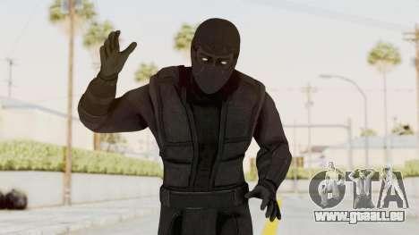 Mortal Kombat X Klassic Noob Saibot für GTA San Andreas