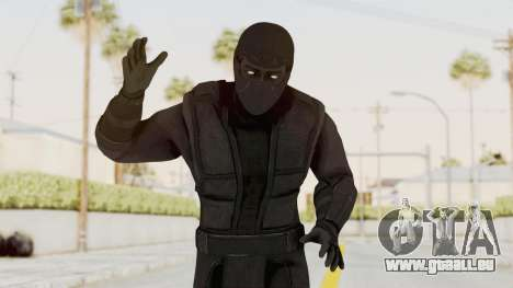 Mortal Kombat X Klassic Noob Saibot pour GTA San Andreas