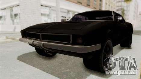 Chevrolet Camaro SS 1968 für GTA San Andreas