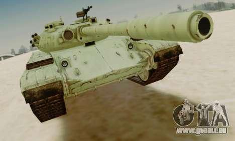 DER T-72A für GTA San Andreas linke Ansicht