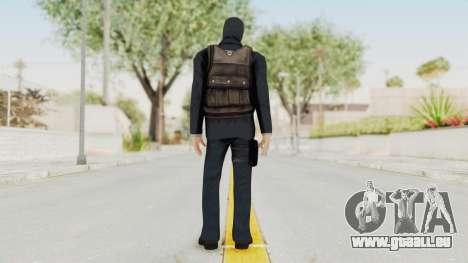 Bourne Conspirancy Euro Mercenary pour GTA San Andreas troisième écran