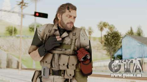 MGSV The Phantom Pain Venom Snake No Eyepatch v3 für GTA San Andreas
