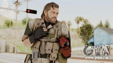 MGSV The Phantom Pain Venom Snake No Eyepatch v3 für GTA San Andreas