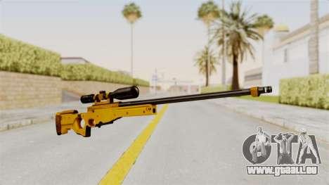 L96A1 Gold pour GTA San Andreas