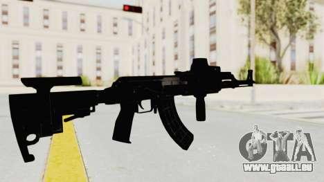 AK-47 Tactical pour GTA San Andreas troisième écran