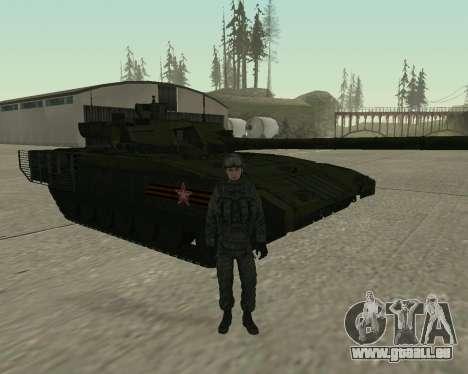 Modern Russian Soldiers pack pour GTA San Andreas huitième écran