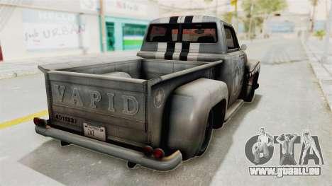 GTA 5 Slamvan Stock PJ2 für GTA San Andreas linke Ansicht