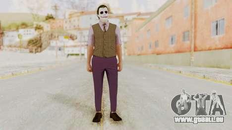Joker Skin pour GTA San Andreas deuxième écran