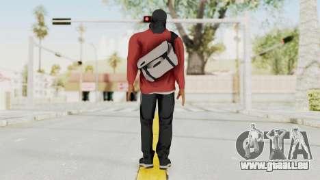 Battlefiled Hardline Professional Gang für GTA San Andreas dritten Screenshot