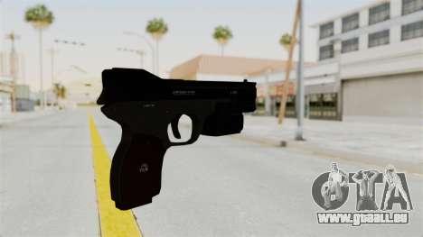 Killzone - M4 Semi-Automatic Pistol No Attach pour GTA San Andreas deuxième écran