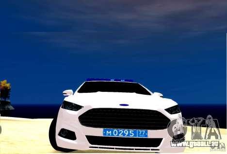 Ford Mondeo Russian Police pour GTA 4 est une gauche