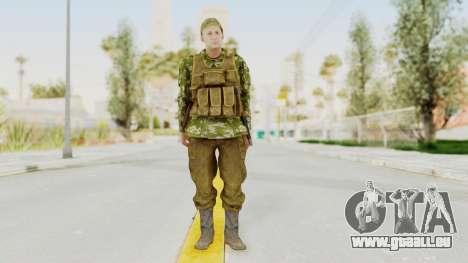 MGSV The Phantom Pain Soviet Union Vest v2 für GTA San Andreas zweiten Screenshot