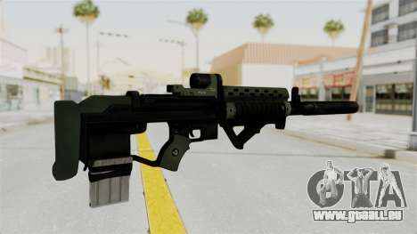 Killzone - M82 Assault Rifle Supressed für GTA San Andreas zweiten Screenshot