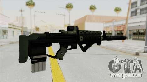 Killzone - M82 Assault Rifle Supressed für GTA San Andreas zweiten Screenshot