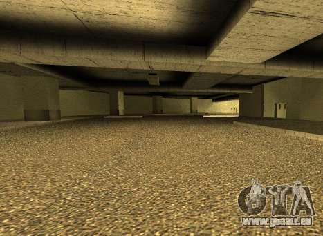 LSPD New Garage für GTA San Andreas dritten Screenshot