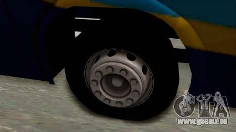 Marcopolo UUM Bus pour GTA San Andreas vue arrière