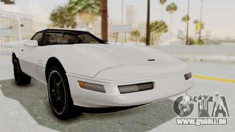 Chevrolet Corvette C4 1996 pour GTA San Andreas