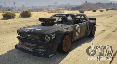 Ford Mustang 1965 Hoonicorn 1.2 [Replace] für GTA 5