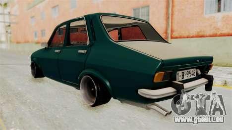 Dacia 1300 Order pour GTA San Andreas laissé vue