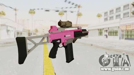 Special Carbine Pink Tint für GTA San Andreas zweiten Screenshot