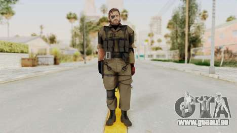 MGSV The Phantom Pain Venom Snake Olive Drab für GTA San Andreas zweiten Screenshot