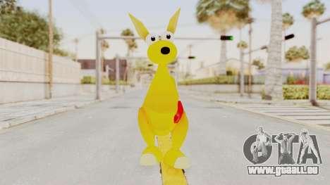 Kao the Kangaroo Gloves für GTA San Andreas zweiten Screenshot