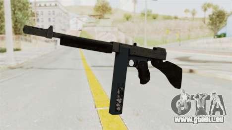 GTA 5 Gusenberg Sweeper Custom pour GTA San Andreas