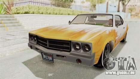 GTA 5 Declasse Sabre GT2 für GTA San Andreas Seitenansicht