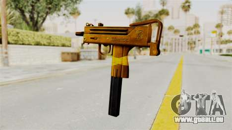 MAC-10 Gold pour GTA San Andreas deuxième écran