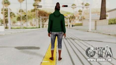 GTA 5 Denise Clinton v2 pour GTA San Andreas troisième écran