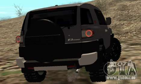Toyota FJ Cruiser pour GTA San Andreas vue arrière