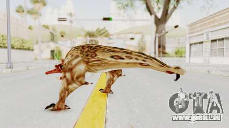 Bullsquid from Half-Life 1 pour GTA San Andreas troisième écran