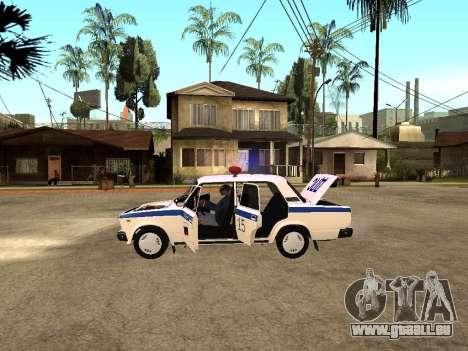 VAZ 2107 DPS pour GTA San Andreas vue de droite