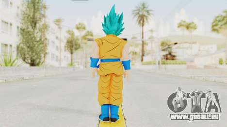 Dragon Ball Xenoverse Goku SJ pour GTA San Andreas troisième écran