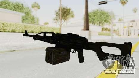 PKM 7.62mm Battlezone Mod pour GTA San Andreas deuxième écran
